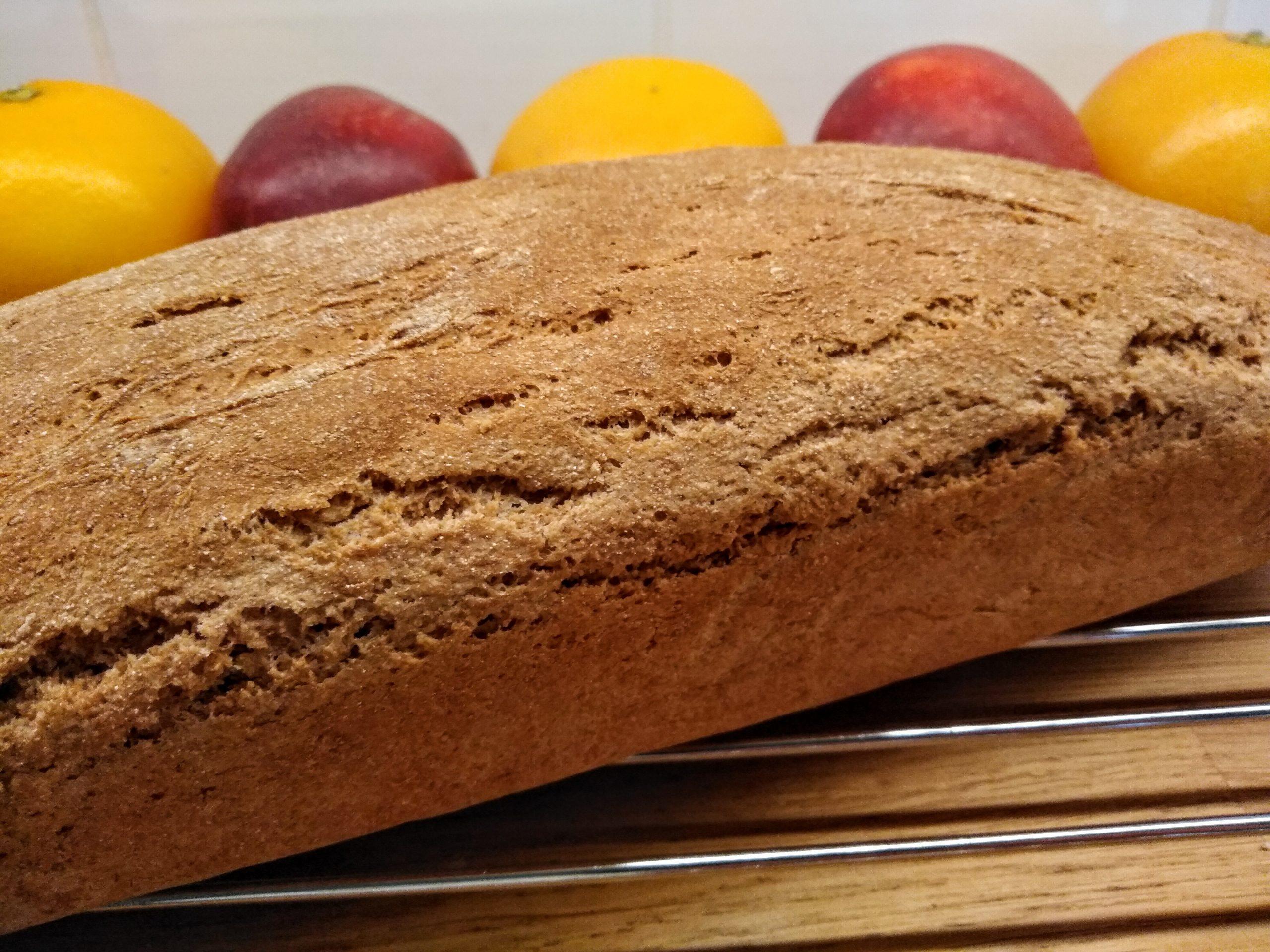 Chleb orkiszowy- przepis