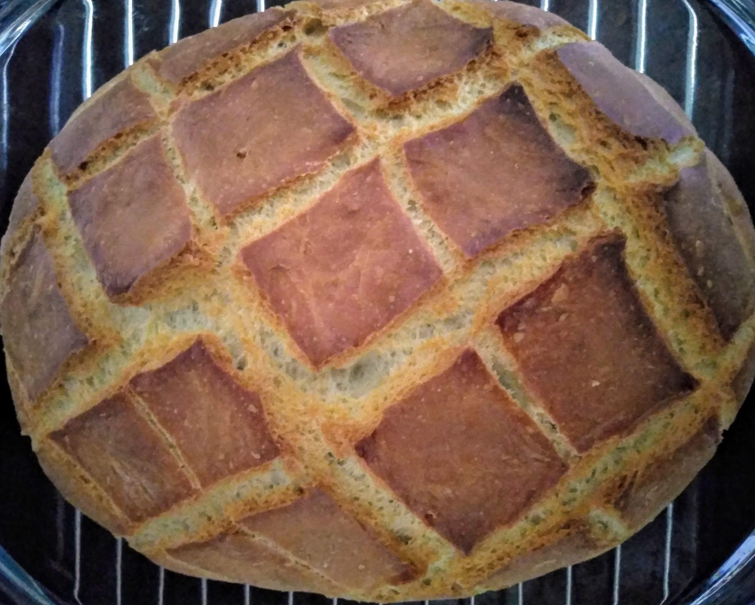 Przepis na chleb z gara