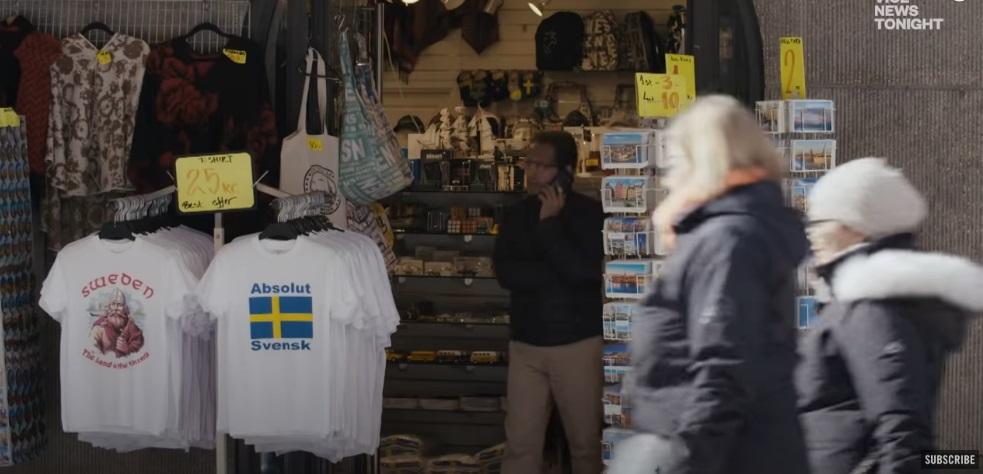 Szwecja w oczy kole.