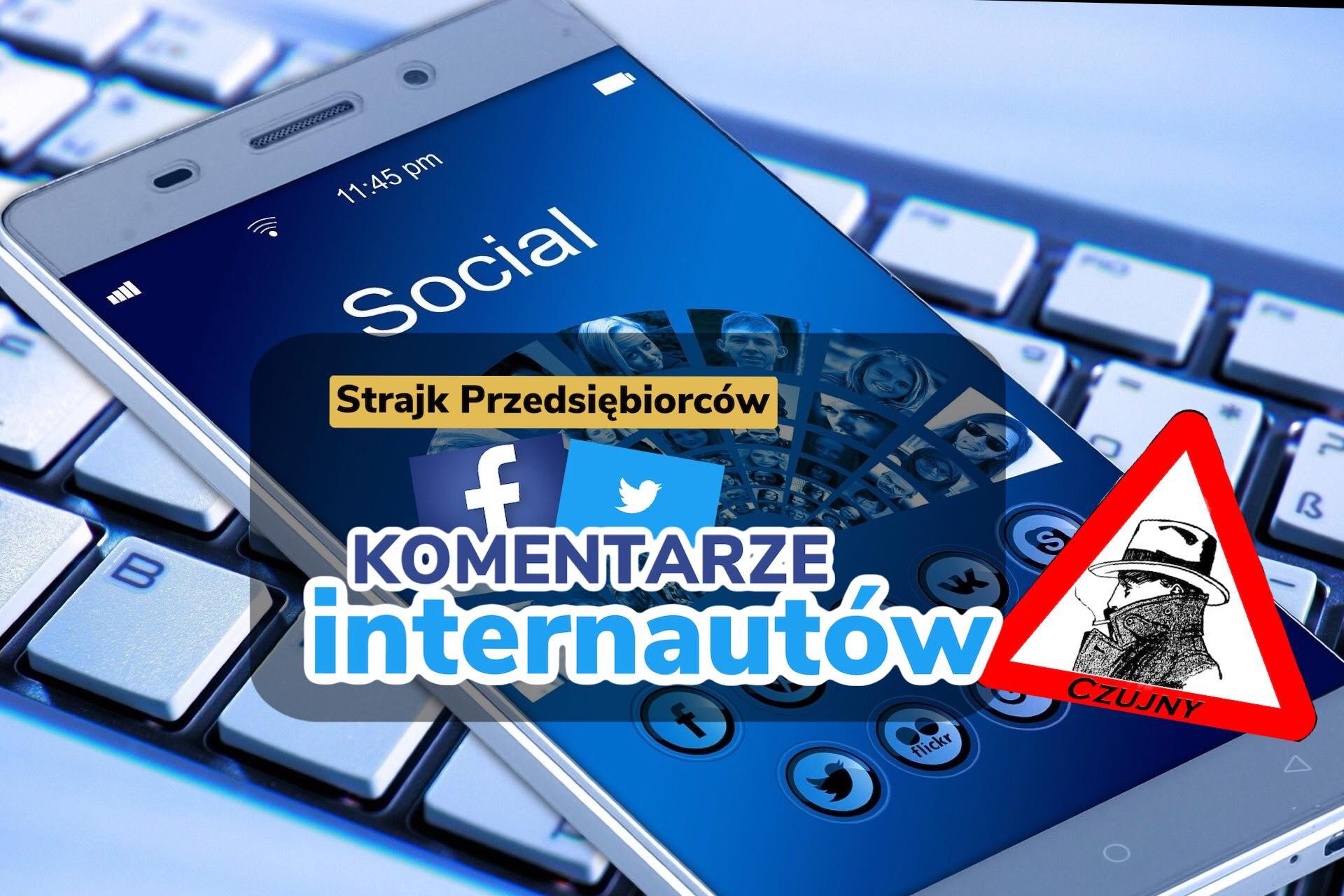 Echa w sieci po wczorajszych protestach w Warszawie.