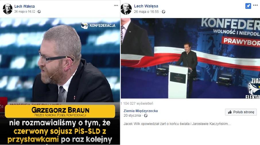 Wałęsa chce do Konfederacji?!