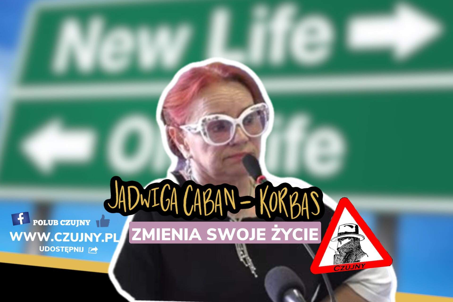 Sławna Jadwiga Caban-Korbas ze słubickiego sanepidu zmieniła swoje życie!
