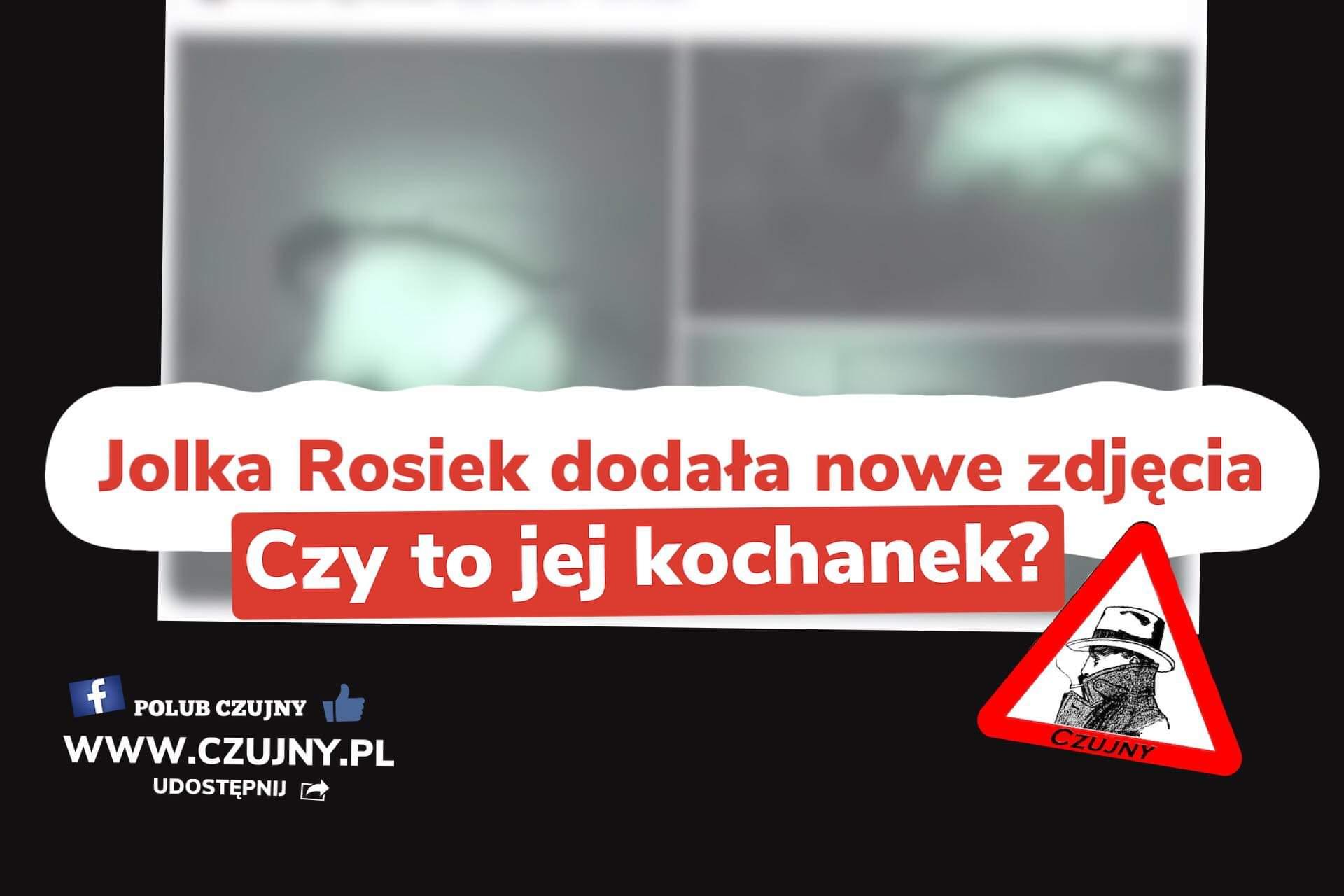 Nowe zdjęcia Jolki Rosiek! Czy to jej kochanek?