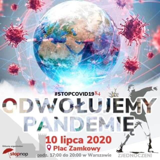 Koniec z koronaterrorem! Zjednoczeni jadą na Warszawę odwołać pandemię!