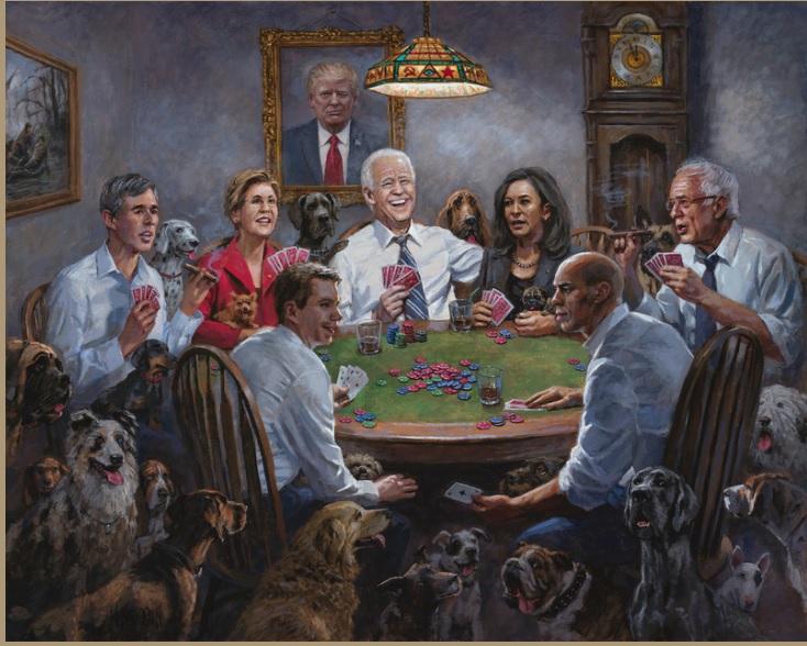 Obraz -przepowiednia wyborów w USA. Jak artysta to przewidział?!