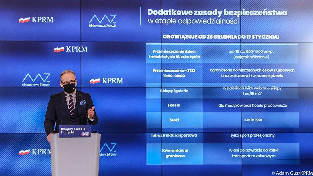 Rządowy projekt segregacji medycznej Polaków.