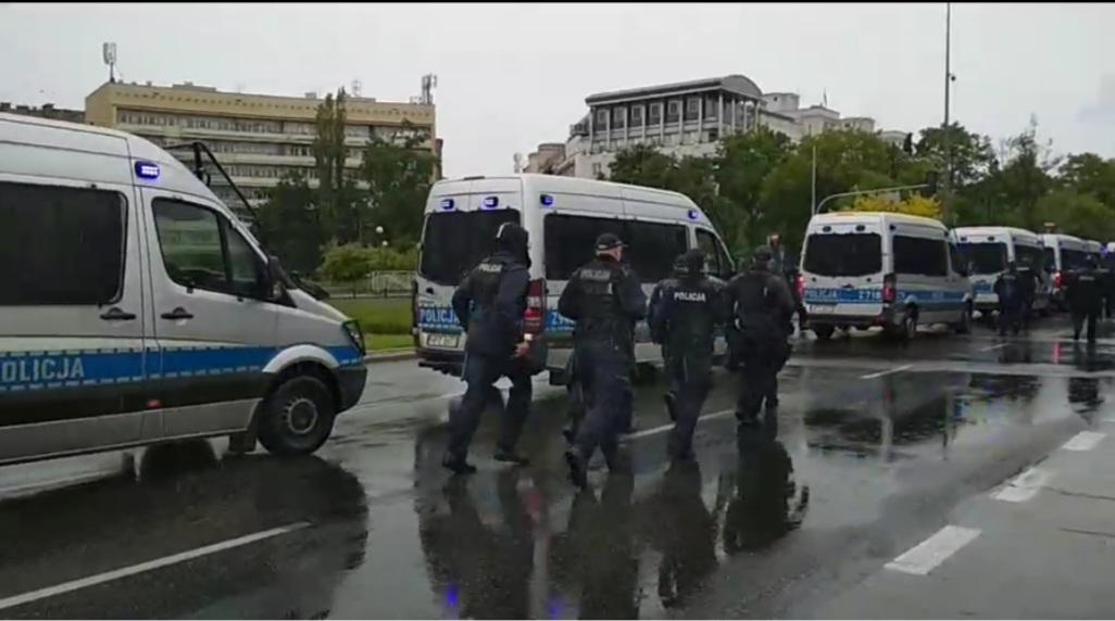 Sobota dniem protestów w Warszawie